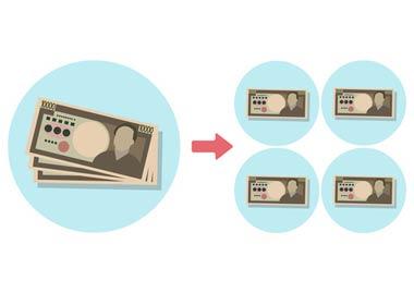 ヤミ金融の凍結口座の預金から分配を受けられる「被害回復分配金」