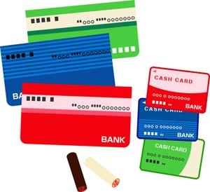 闇金は複数の銀行口座を入手する