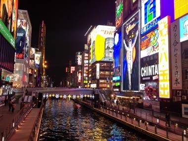 大阪の歓楽街